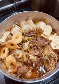 すき焼きのたれ☆一手間で美味しい肉豆腐