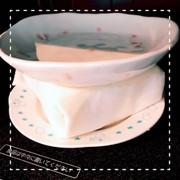 レンジで簡単!豆腐の水切りの写真