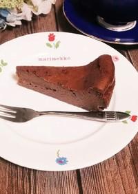 超速超簡単!濃厚チョコレートチーズケーキ