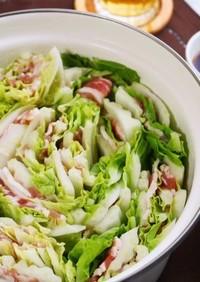 白菜と豚肉のミルフィーユ鍋♪