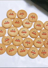 アンパンマンクッキー ♡