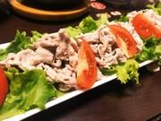 豚肉の常温しゃぶサラダの写真