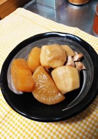 圧力鍋で!里芋と大根と鶏肉の煮物