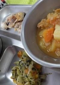 洋風肉じゃが 河内長野市学校給食