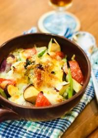 鶏胸肉とお野菜のチーズグリル