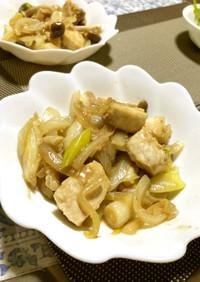 男の料理☺ 生姜の効いたカジキの和風炒め