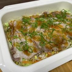 豚肉と野菜の蒸し焼き
