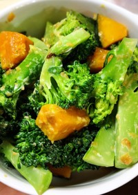 レモンマヨの温野菜サラダ