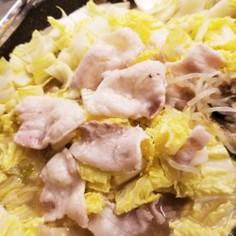 白菜と豚バラの重ね蒸し