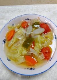 燃焼野菜たっぷりデトックススープ