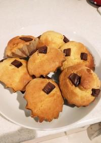 蒸しパンミックス簡単チョコカップケーキ