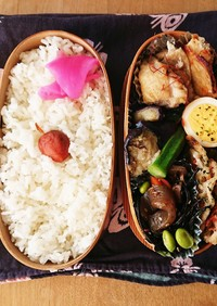 お弁当★レンコン桜エビのヘルシーかき揚げ