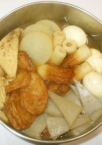 ミネラル煮干し粉おでん♪簡単漢方食養生