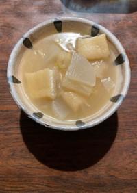 根菜油揚げのお味噌汁