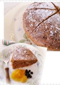 炊飯器で簡単チョコレートケーキ