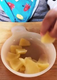 離乳食後期のおやつ用りんご