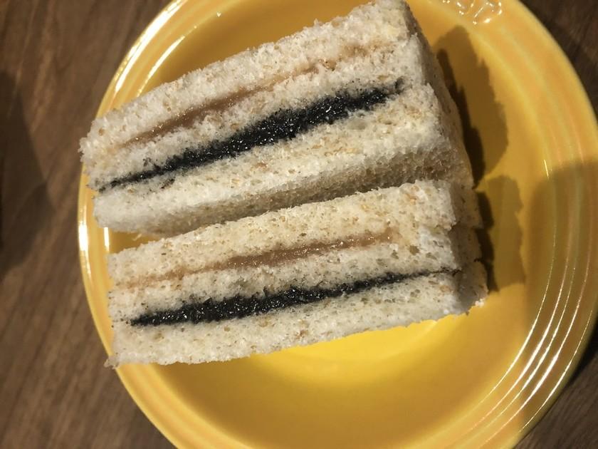 全粒粉入り食パンdeサンドイッチ