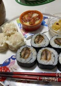 コストコ秋刀魚の蒲焼巻き(中巻)