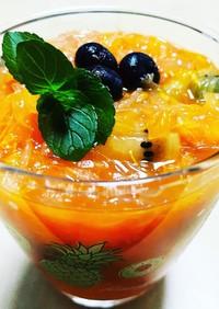 フルーツのガスパチョ