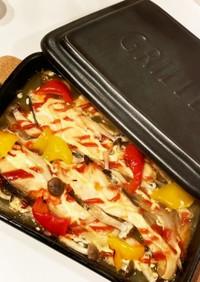 グリラーde鮭と野菜のグリル焼き