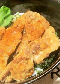 絶品マグロの生姜焼き丼