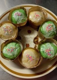 MrsWongちのクリスマスカップケーキ