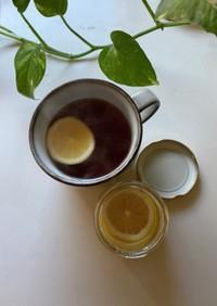 紅茶に合うレモンのはちみつ漬け