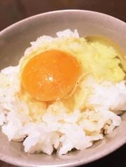 簡単!岩塩とめんつゆの卵かけご飯の写真