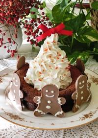 簡単*クリスマスのガトーショコラ