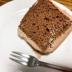 チョココアシフォンケーキ