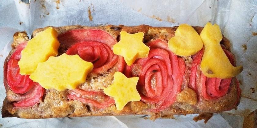 林檎とさつまいものケーキ/薔薇星猫