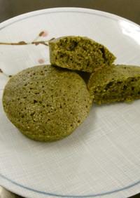 緑茶のマドレーヌ