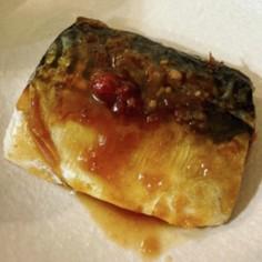 コストコ塩サバでパパっとサバ味噌煮
