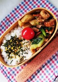 野菜炒め弁当(12.21)