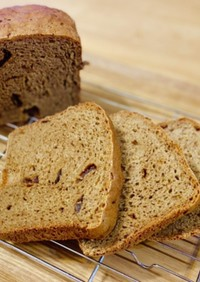 HBでライ麦パン ライ麦50%糖質制限◎