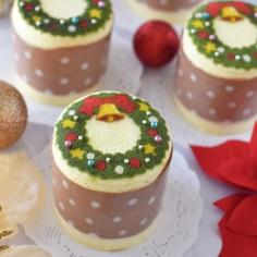 ミニデコケーキ♪♪♪クリスマスバージョン
