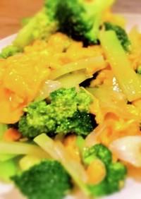 人気定番主菜/ブロッコリーと卵の中華炒め