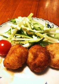 里芋の煮物リメイクコロッケ