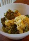 野菜のカレーマヨネーズ焼き
