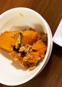 かぼちゃのそぼろ煮