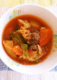 ボルシチ★神戸市学校給食レシピ