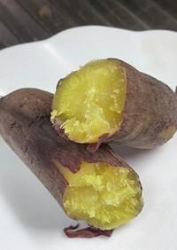 レンジで、ホクホク簡単焼き芋