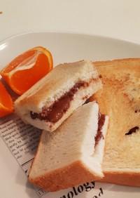 簡単!食パンで、チョコサンド♡