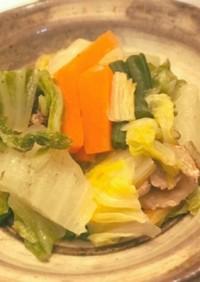 タジン鍋で蒸すだけお野菜