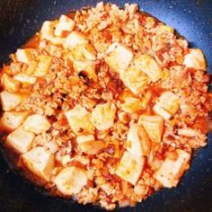 ジャージャー麺の素で超簡単激ウマ麻婆豆腐