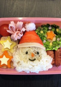 キャラ弁 クリスマス 幼稚園 簡単