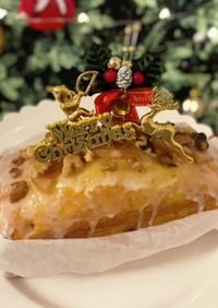 リモンチェッロでレモンパウンドケーキ