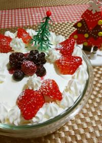 ★クリスマスにおからで*スコップケーキ*