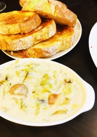 冬の定番♡白菜の濃厚クリームシチュー