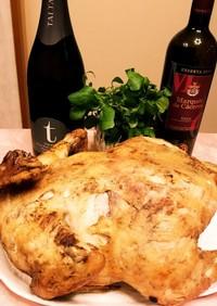クリスマス☆簡単!丸鶏でローストチキン